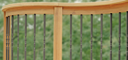 "Colonial Balusters-10 pack  26"" balusters"