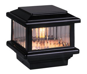 Titan Black Tall Flat Top Glass (12 Volt) LED