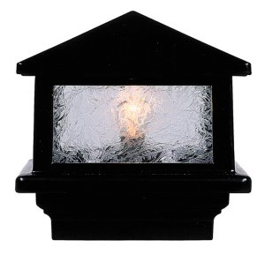 Sirius Black Pyramid Glass (12 Volt) fits 3 1/2""