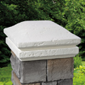 Natural Cast Stone Post Cap Contour