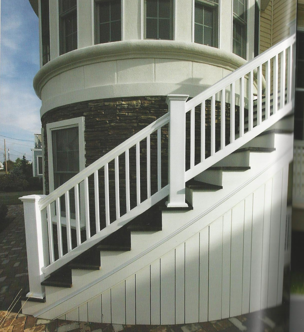 "Model STAIR Railing 3000 Series 36""H-Stair Boxed"
