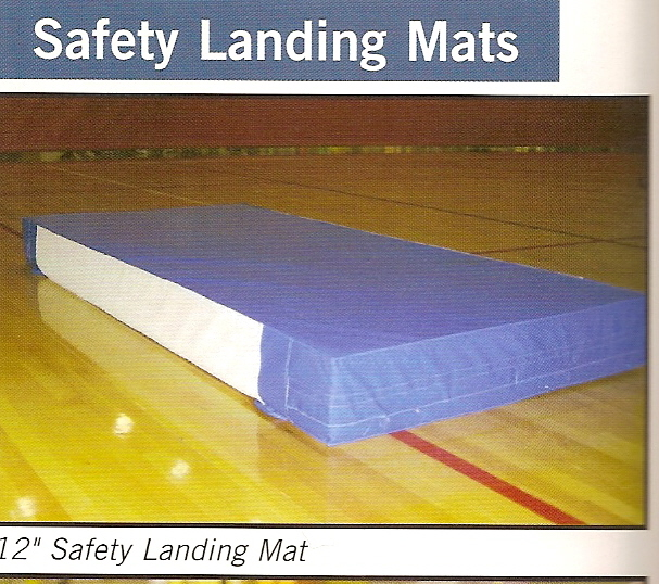 "4ft x 6 ft x 12"" Safety Landing Mat"