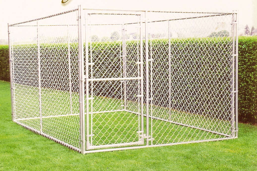 4 x 4 x 6 H Complete Kennel