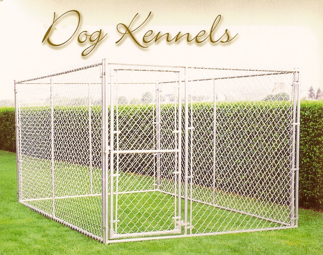 6 x 6 x 6 H Complete Kennel