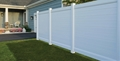 Brookline Privacy Vinyl Fence 6' x 6'