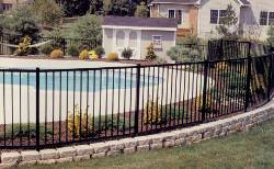 "Ovation Aluminum Fence 48"" x 6 ft"