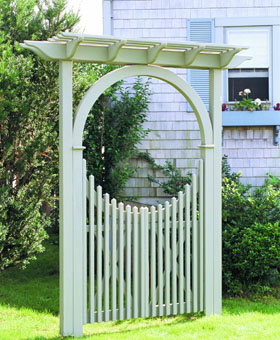 Seaside Pergola Western Red Cedar 3 1/2