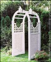 LaFayette, Lattice Base/Curved Topper