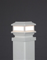 "Triton Deck Light 4"" Post 12 V, 1.6 Warm White LED"
