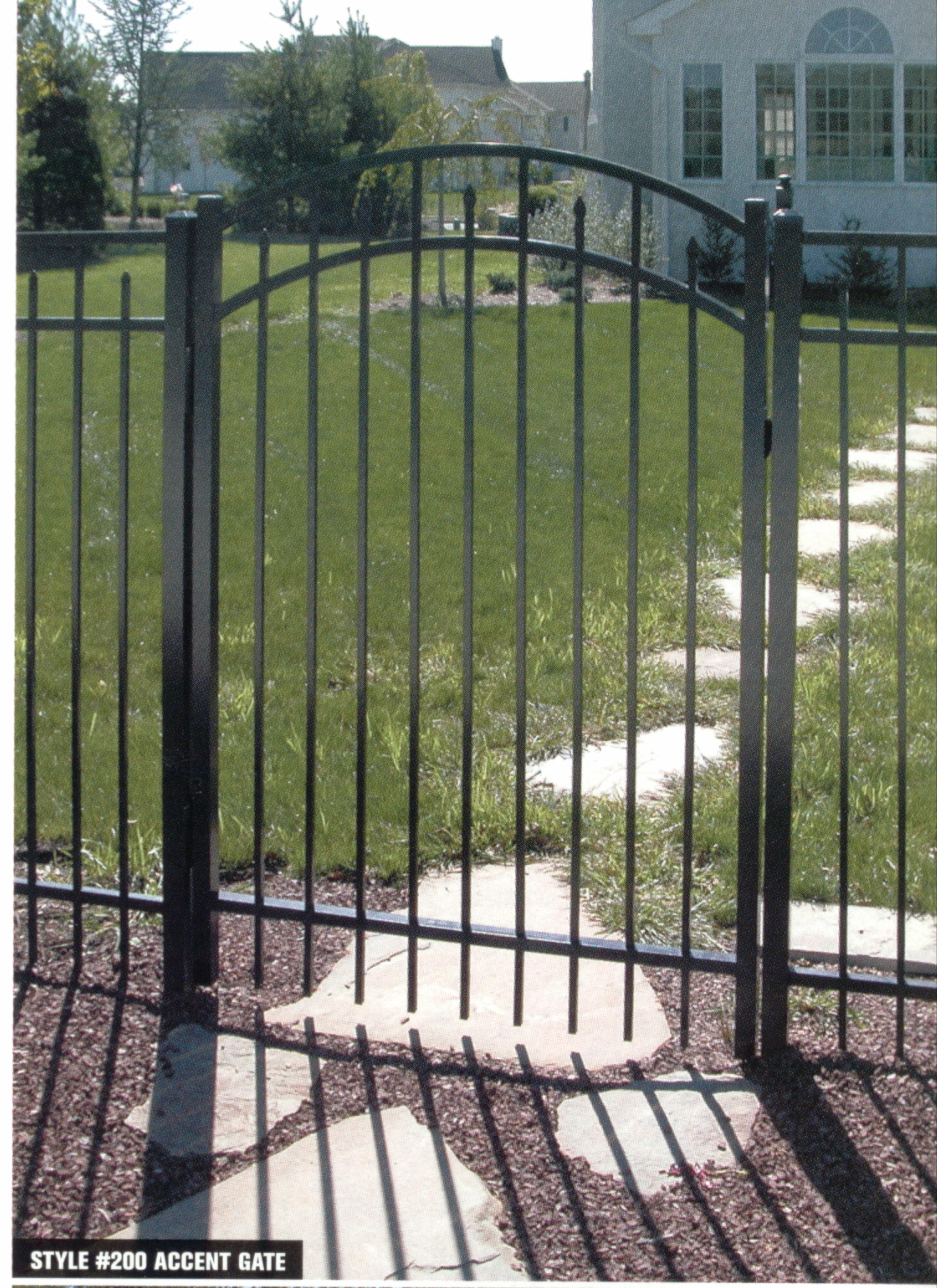 "Accent Gate 36"" Wide"