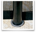 Aluminum Pole w/cap 5 ft 4 in