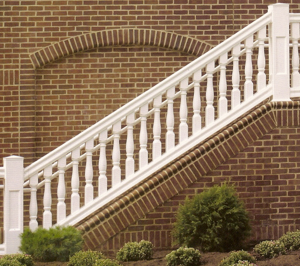 "Belmont Balustrade STEP Boxed 36"" x 6- 7000 Series"
