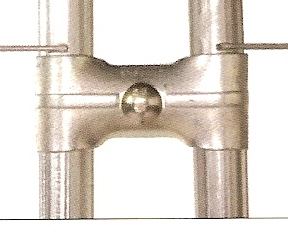 "Panel Clamp 1 3/8"" with Bolt"