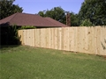 Solid Board Fence 6' x 8'