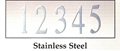 Stainless Steel Number (per number)