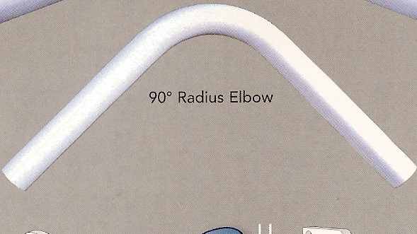 "90 Degree Rad Elbow-for 1  1/2"" K."