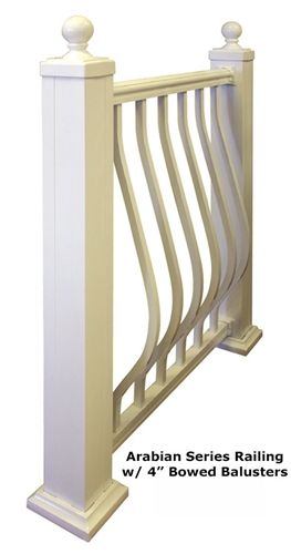 "2 1/2"" x 48""L Heavy Wall Post, plate, cap, trim"